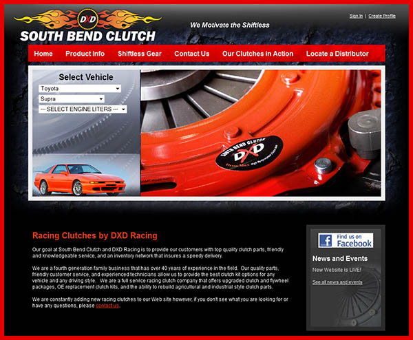 Best Web Designs for Auto Parts Manufacturers
